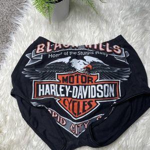 Vintage Harley Davidson Festival Shorts Bloomers